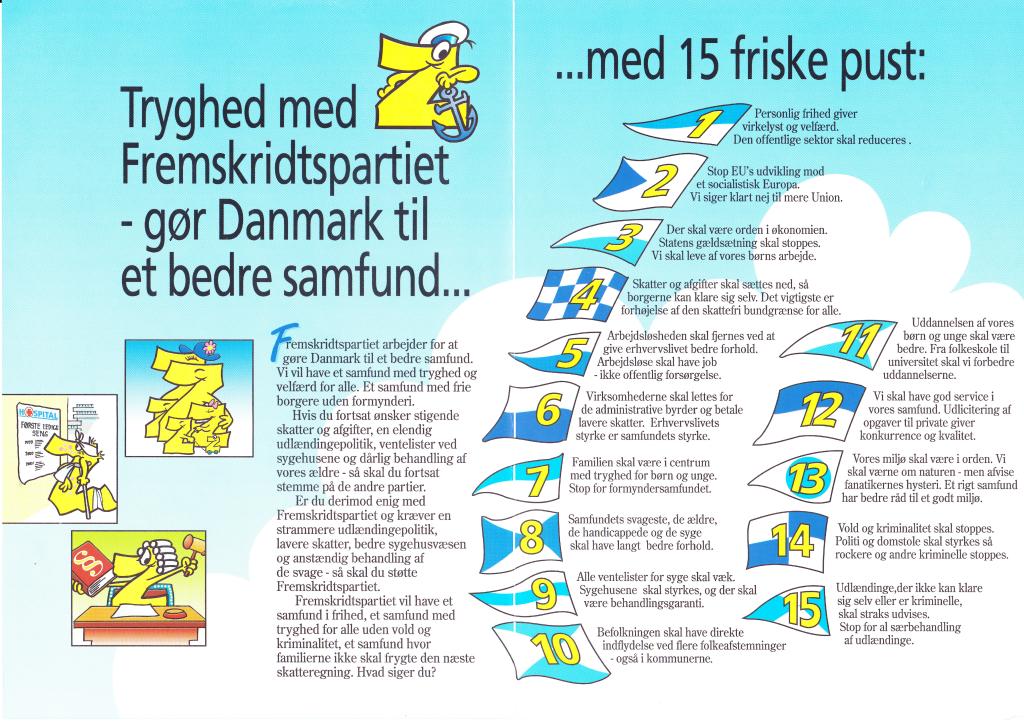 Fremskridtspartiet  - Et anker for danske værdier!